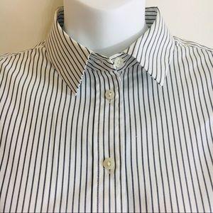 Light Pinstripe Button Down Shirt